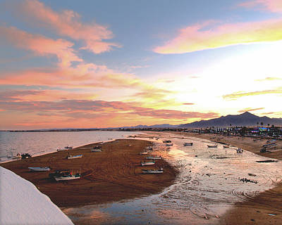 San Felipe Sunset 04 Art Print