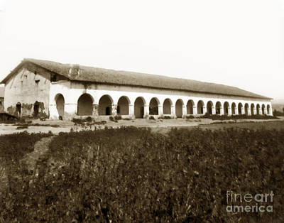 Photograph - San Fernando Mission Circa 1900 by California Views Mr Pat Hathaway Archives