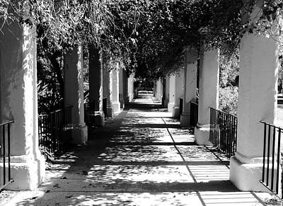 Photograph - San Fernando Mission - Garden Walkway by Glenn McCarthy Art and Photography
