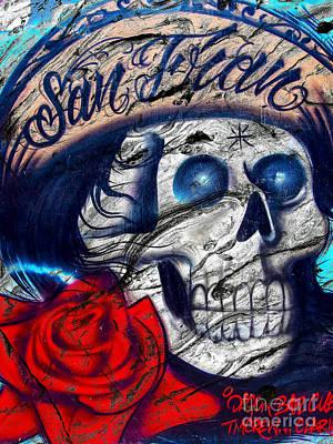 Photograph - San Fran Skull by Derek Selander