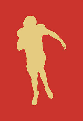 San Francisco 49ers Colin Kaepernick Art Print by Joe Hamilton