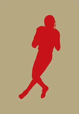 San Francisco 49ers Joe Montana Art Print