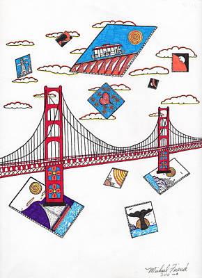 San Francisco Afloat Art Print by Michael Friend