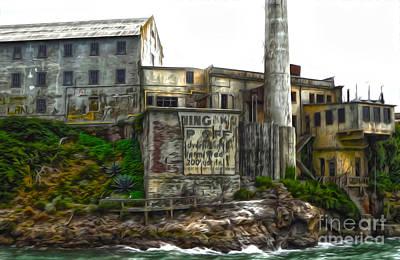 San Francisco - Alcatraz - 04 Art Print by Gregory Dyer