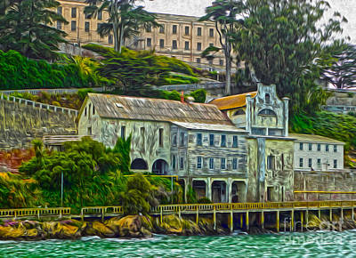 San Francisco - Alcatraz - 06 Art Print by Gregory Dyer