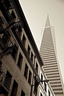 Photograph - San Francisco Angles by Eric Tressler