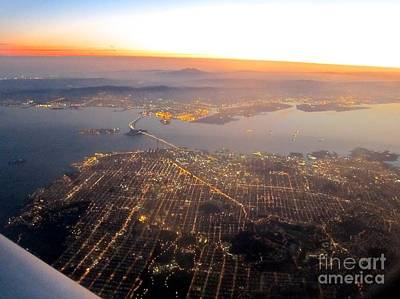 Photograph - San Francisco At Sunrise by Phyllis Kaltenbach