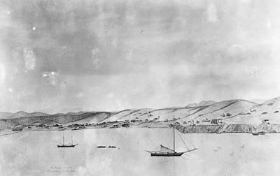 Destiny Painting - San Francisco Bay, 1848 by Granger