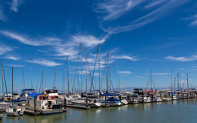 Photograph - San Francisco Bay A Boaters Paradise by John M Bailey