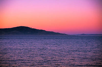 Photograph - San Francisco Bay At Dusk 1 by Jeremy Herman