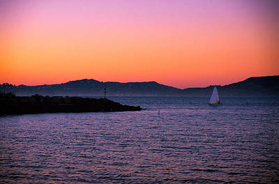 Photograph - San Francisco Bay At Dusk 2 by Jeremy Herman