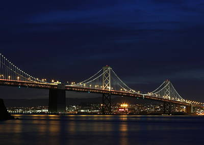 Photograph - San Francisco Bay Bridge by John King