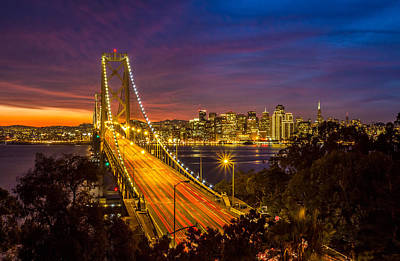 Photograph - San Francisco Bay Bridge No2 by Pierre Leclerc Photography