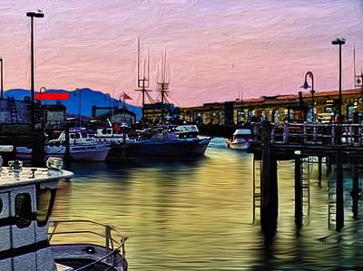 San Francisco Bay Digital Art - San Francisco Bay by Camille Lopez