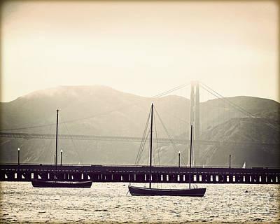 San Francisco Bay Fog Original by Chris Andruskiewicz