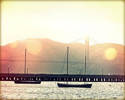 San Francisco Bay Fog I Original by Chris Andruskiewicz
