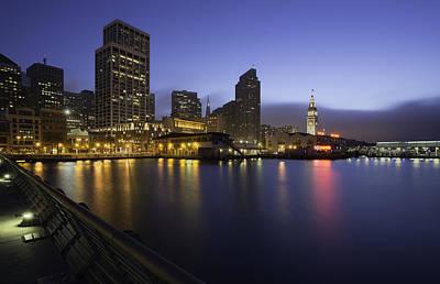 San Francisco Blue Hour Original by Jerome Obille