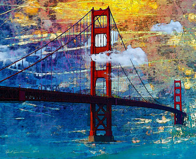 San Francisco Bridge Art Print