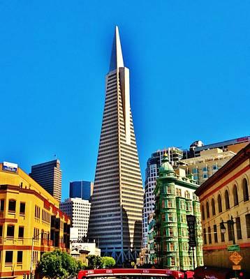 Tour Bus San Francisco Photograph - San Francisco Bus Ride by Tom  Shaw