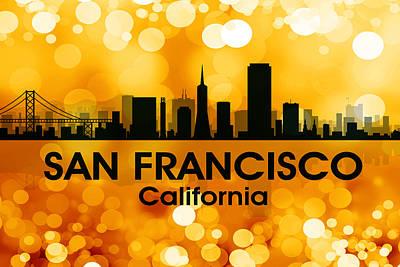 Icon Mixed Media - San Francisco Ca 3 by Angelina Vick