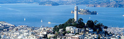 Alcatraz Island Photograph - San Francisco Ca by Panoramic Images