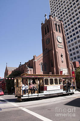 Photograph - San Francisco Cable Car by Brenda Kean