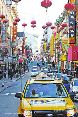 Photograph - San Francisco Chinatown by Artist and Photographer Laura Wrede