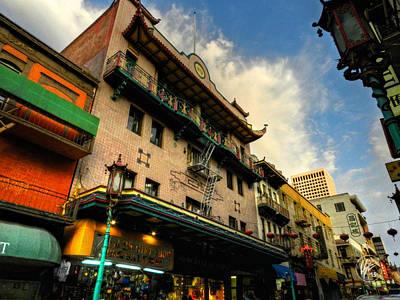 Photograph - San Francisco - Chinatown 003 by Lance Vaughn