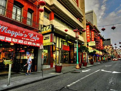 Photograph - San Francisco - Chinatown 005 by Lance Vaughn