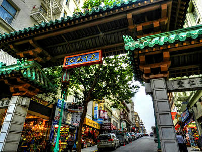 Photograph - San Francisco - Chinatown 012 by Lance Vaughn