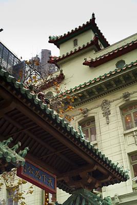 San Francisco Chinatown Dragon Gate Art Print by SFPhotoStore