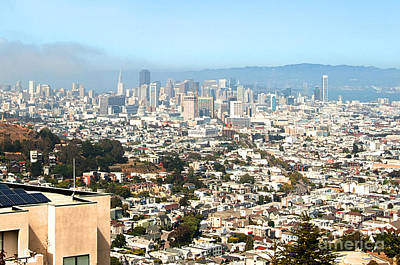 Photograph - San Francisco City Vista by Artist and Photographer Laura Wrede
