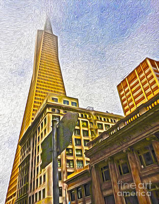 San Francisco - Cityscape - 05 Art Print by Gregory Dyer