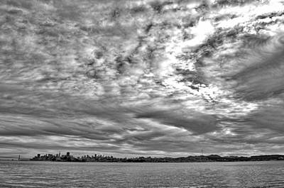 Photograph - San Francisco Clouds by Spencer Hughes