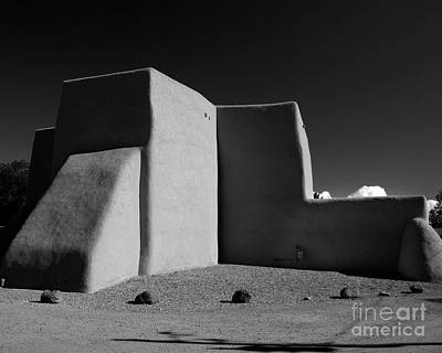 Photograph - San Francisco De Asis Chapel by Heidi Hermes