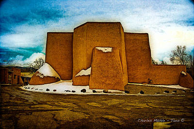 Photograph - San Francisco De Asis by Charles Muhle