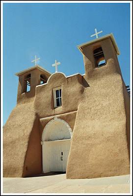 San Francisco De Asis Church - Taos Original by Dora Sofia Caputo Photographic Art and Design