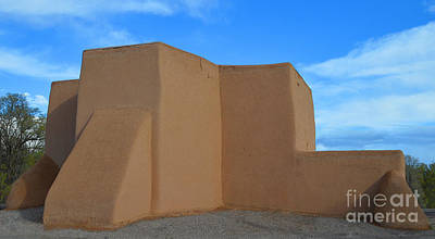 Mt Rushmore Royalty Free Images - San Francisco de Asis Mission Church in Taos Royalty-Free Image by Catherine Sherman