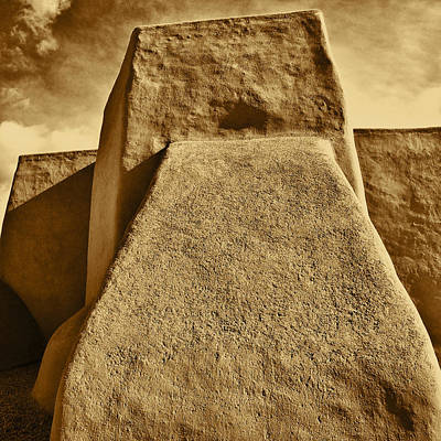 Photograph - San Francisco De Asis Mission Church Taos by John Hansen