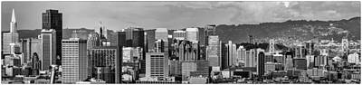 Photograph - San Francisco Downtown Panorama by Judith Barath