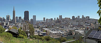 Photograph - San Francisco Downtown Skyline by Panoramic Images