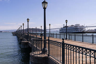 Photograph - San Francisco Embarcadero Pier 7 Dsc1581 by Wingsdomain Art and Photography