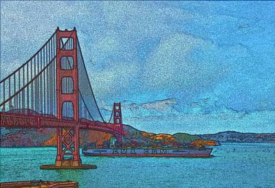 Photograph - San Francisco Fauve by Steven Richman