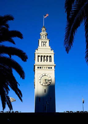 Photograph - San Francisco Ferry Building Clock Tower by David Smith