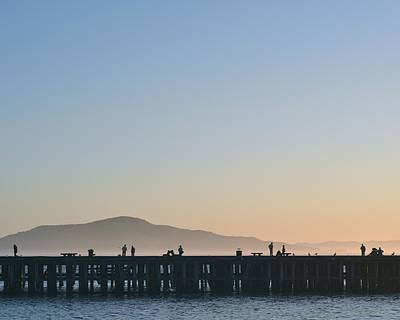 San Francisco Fishing Dock Art Print