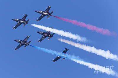 San Francisco Fleet Week Patriots Jet Team 5d29517 Art Print by Wingsdomain Art and Photography