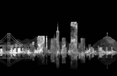 Castro Digital Art - San Francisco Fog by Daniel Hagerman