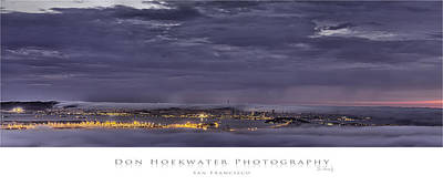 Photograph - San Francisco Fog by PhotoWorks By Don Hoekwater