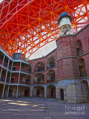 San Francisco - Fort Point - 02 Art Print by Gregory Dyer
