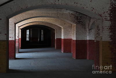 San Francisco Fort Point 5d21543 Art Print by Wingsdomain Art and Photography